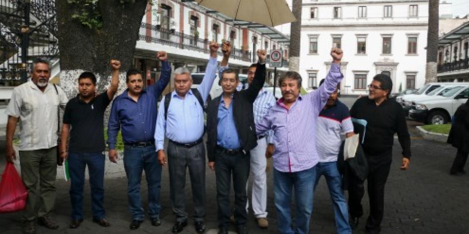 Rubén Núñez presente en mesa de diálogo entre CNTE y Segob