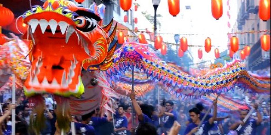VIDEO: Así celebraron la llegada del año nuevo chino en la CDMX