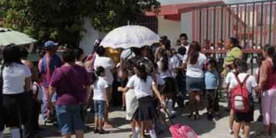 Reportan 60% de escuelas abiertas en Chiapas