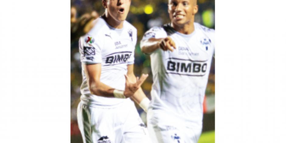 Monterrey pone en las cuerdas al  campeón de la Liga mexicana