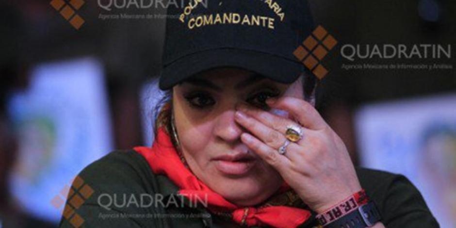 Soy libre y es la libertad del pueblo, señala Nestora Salgado