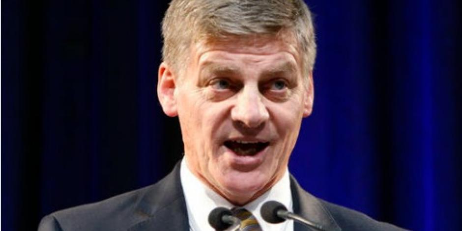 Bill English es el nuevo primer ministro de Nueva Zelanda