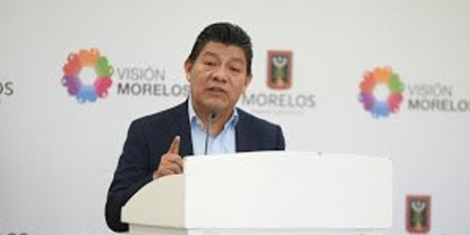 Mando Único seguirá en Cuernavaca, afirma gobierno de Morelos