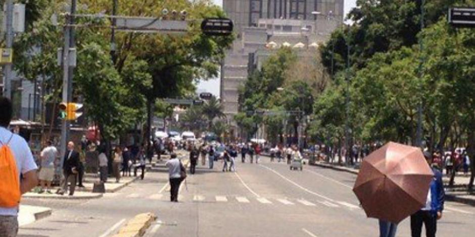 CNTE marcha a Segob