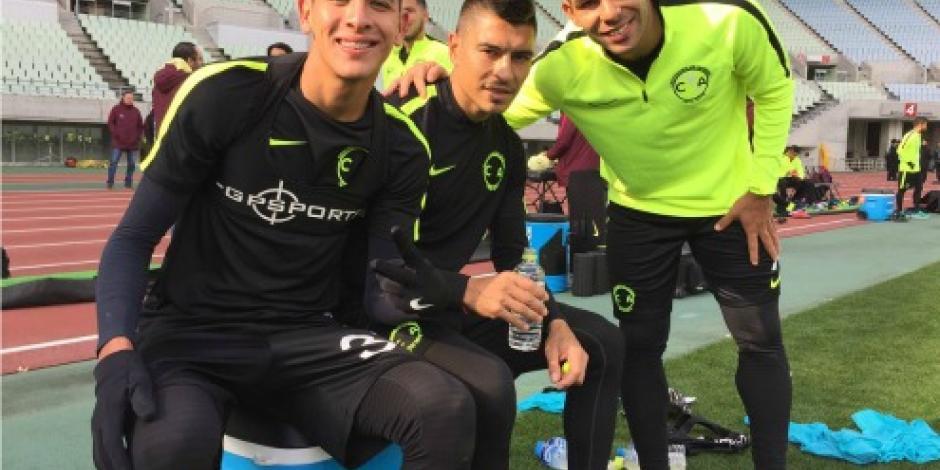 Realiza América segundo entrenamiento de cara al Mundial de Clubes