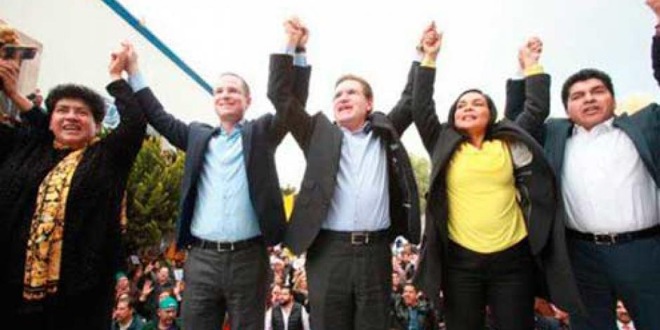 Rosas Aispuro, candidato del PAN y PRD a gubernatura de Durango