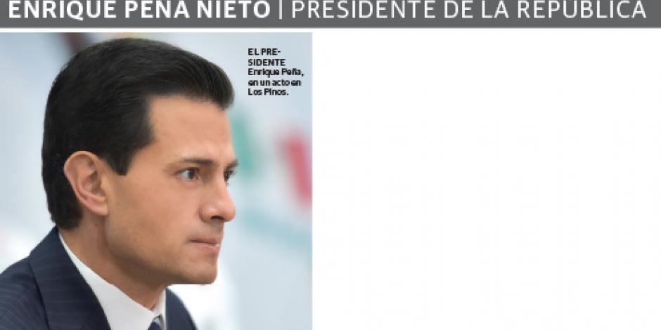 """""""Se vale soñar lejos, no hay que poner límites"""": EPN"""