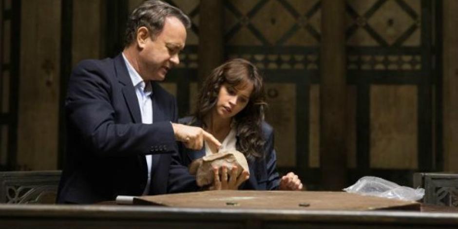 """VIDEO: Tom Hanks vuelve a la pantalla grande con """"Infierno"""""""