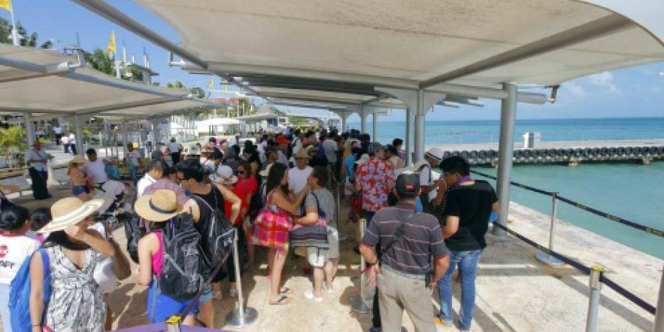 Crece arribo de visitantes de Isla Mujeres más del 64.5%, destaca Roberto Borge