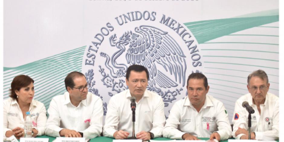 Osorio revisa acciones preventivas por volcán