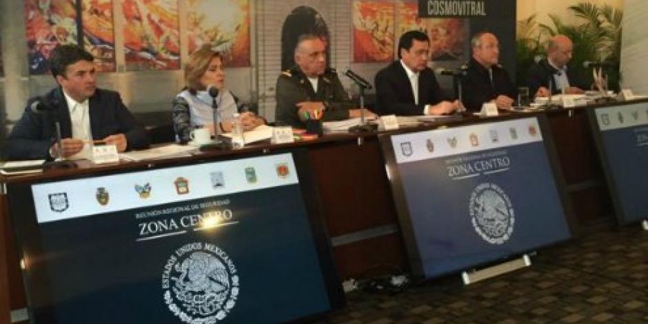CNS y Segob encabezan reunión de seguridad con gobernadores