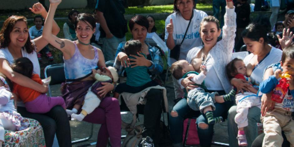 Lactancia materna se duplicó en México, apunta Ssa