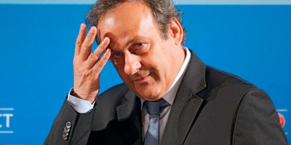 Platini dimite como presidente de UEFA