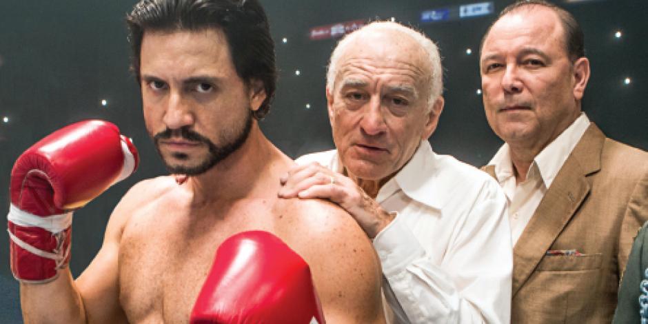 Vinny Paz y Mano de Piedra  regresan al ring en filmes