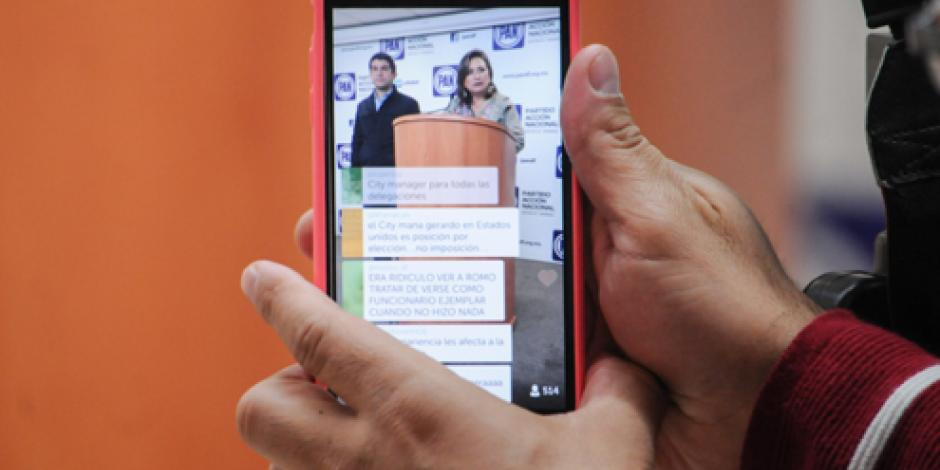 Regulación de Periscope busca proteger a personas, señala InfoDF