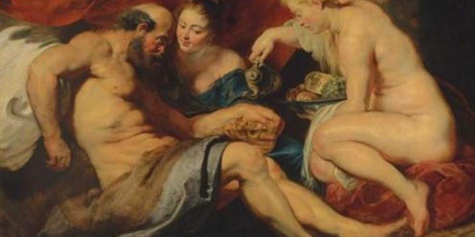 """La pintura """"Lot y sus hijas"""" de Rubens, subastado por 52.4 mde"""