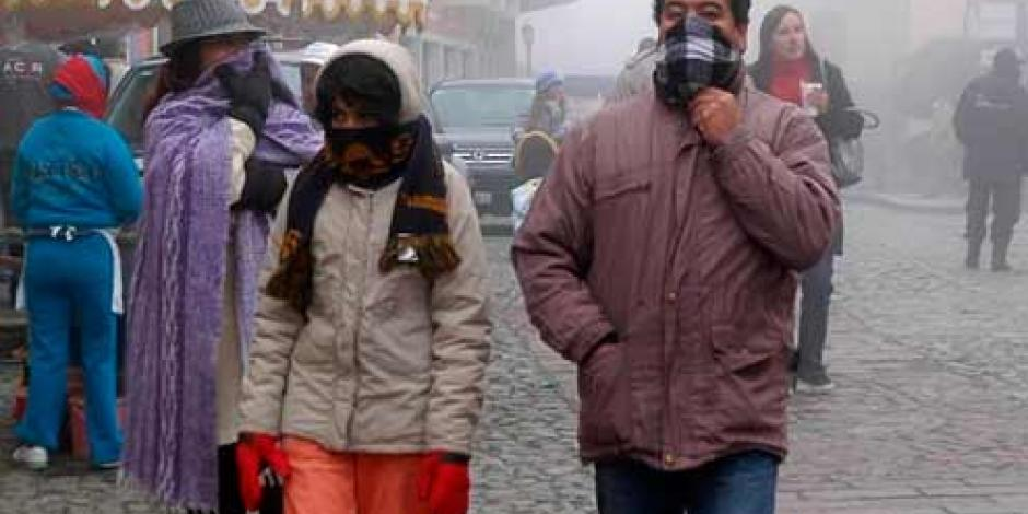 Finaliza emergencia por frío en 23 estados del país