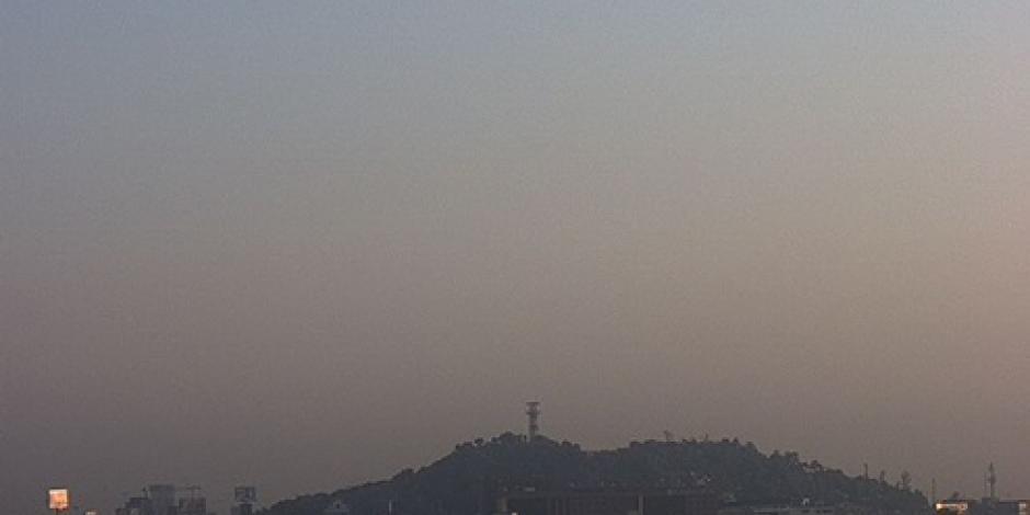 Amanece el Valle de México con regular calidad del aire