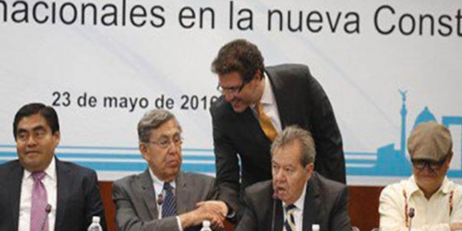 Mancera entregará iniciativa de Constitución CDMX, dice Barbosa