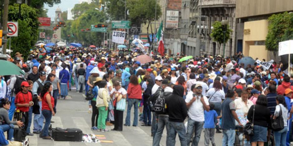 CNTE condiciona regreso al diálogo con gobierno federal