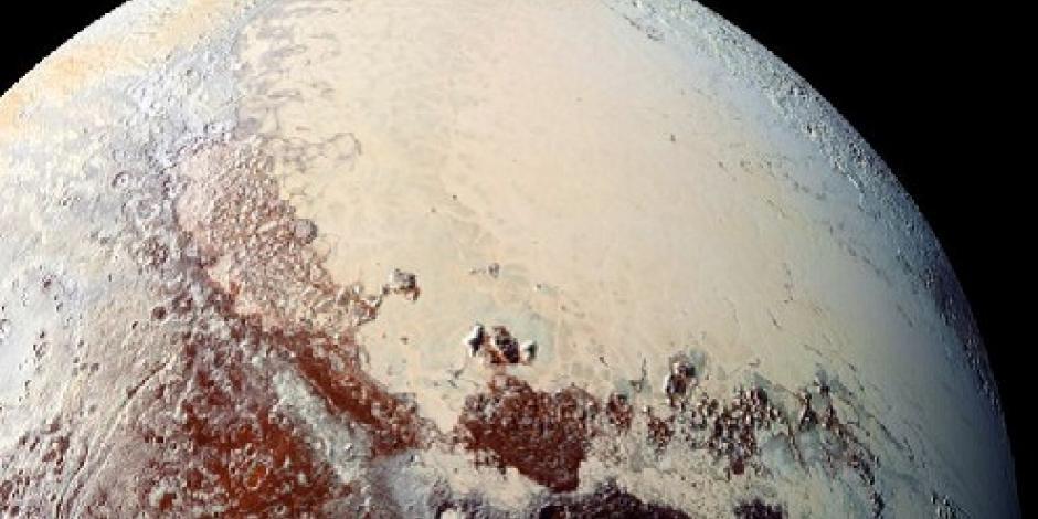 NASA difunde nuevas fotos de Plutón