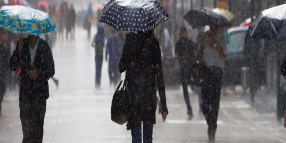 Dominarán lluvias en gran parte del país