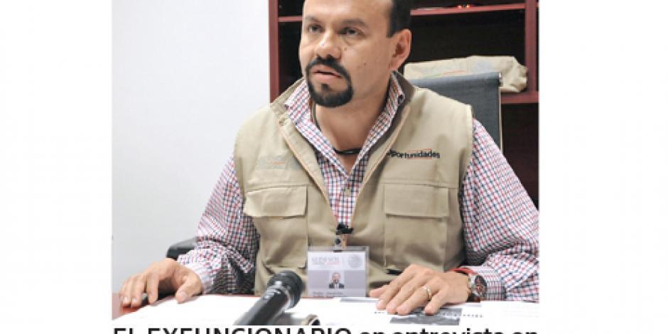 Renuncia delegado de Prospera en Veracruz