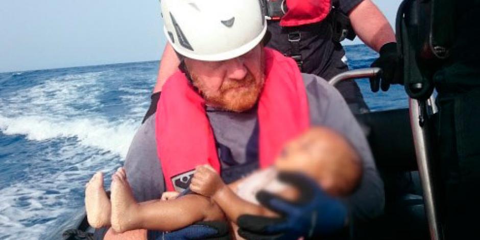 Bebé ahogado en el Mediterráneo revive atención en crisis migratoria