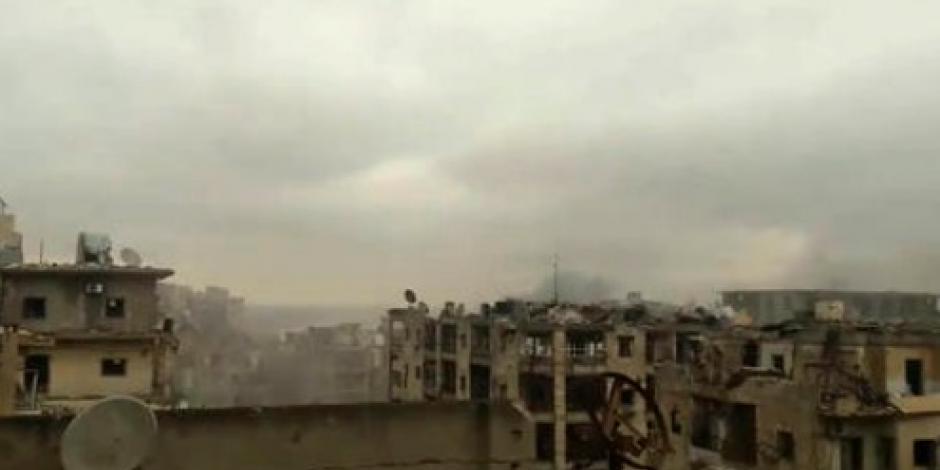 Siguen combates en Alepo y evacuación se detiene