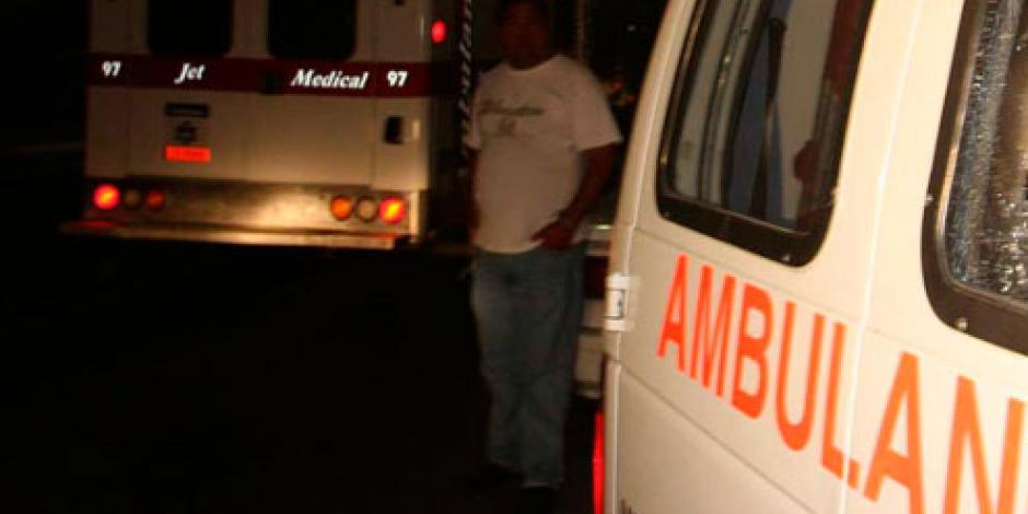 Ambulancia atropella a 35 peregrinos en Durango