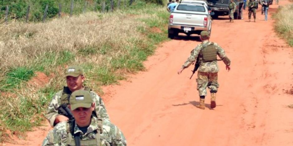 Mueren ocho militares paraguayos en emboscada