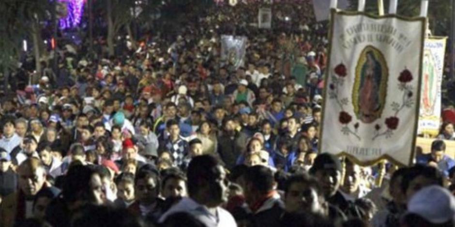 Se esperan 7 millones de peregrinos en la Basílica de Guadalupe