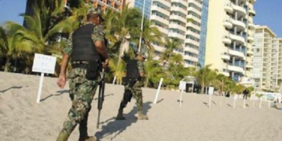 Ejército asume el control del C-4 en Guerrero