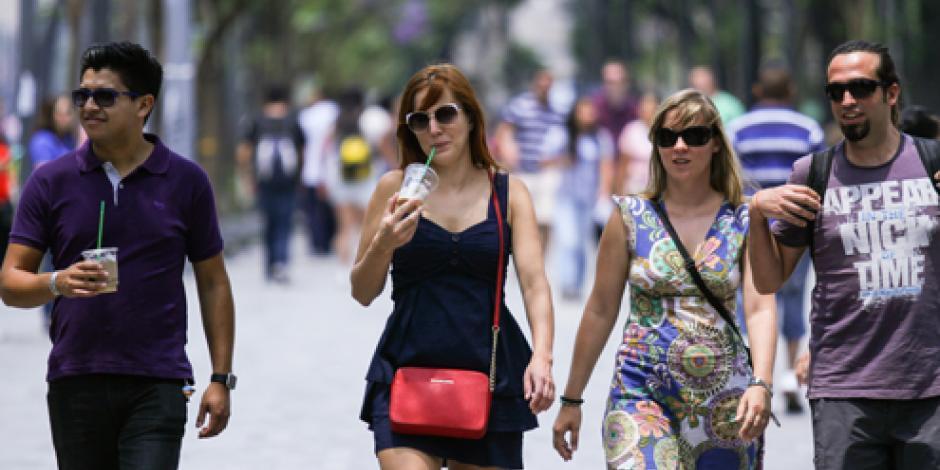 Prevén altas temperaturas en gran parte del país