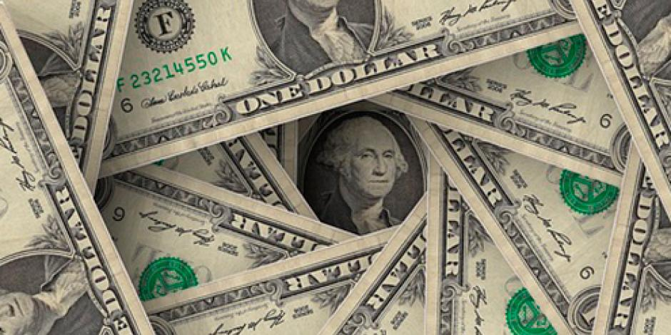 Dólar se vende en un máximo de 18.95 pesos en bancos de la CDMX