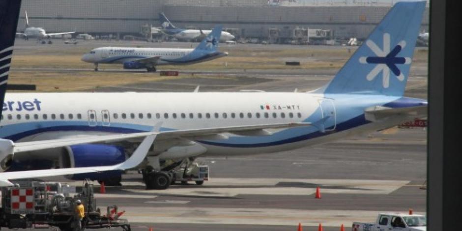 Paraliza Interjet 11 aviones rusos para revisión