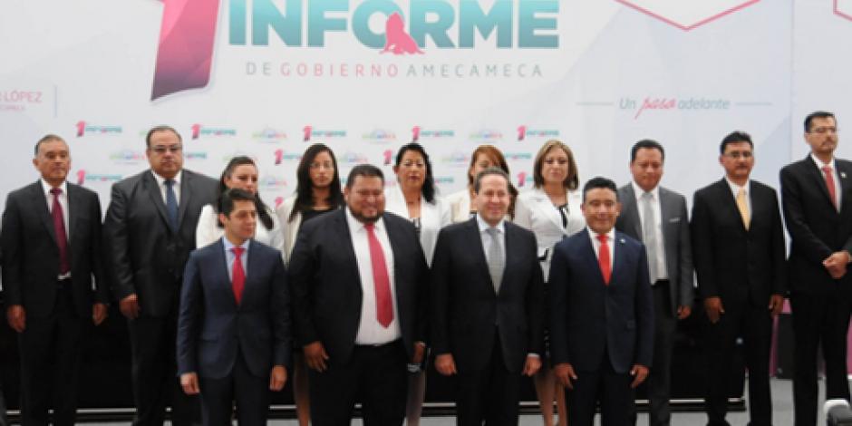 Vive Edomex paz social durante informes de gobierno municipal, afirma Eruviel Ávila