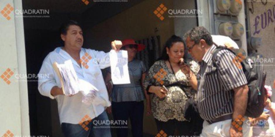 CETEG quema notificaciones de la SEP en Chilpancingo
