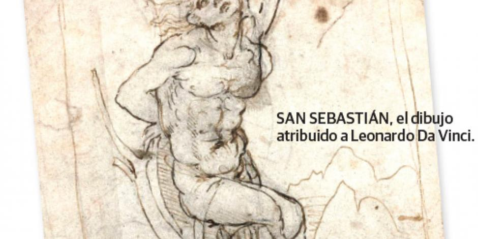 Hallan entre papeles olvidados un Da Vinci inédito de 15.9 mdd