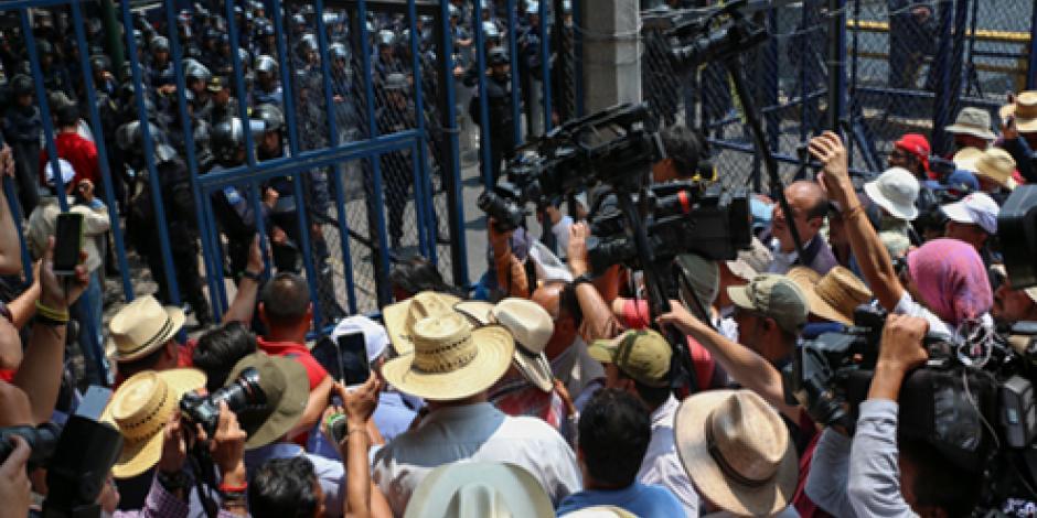 Diálogo con CNTE cuando acepte reforma,  sostiene Presidencia
