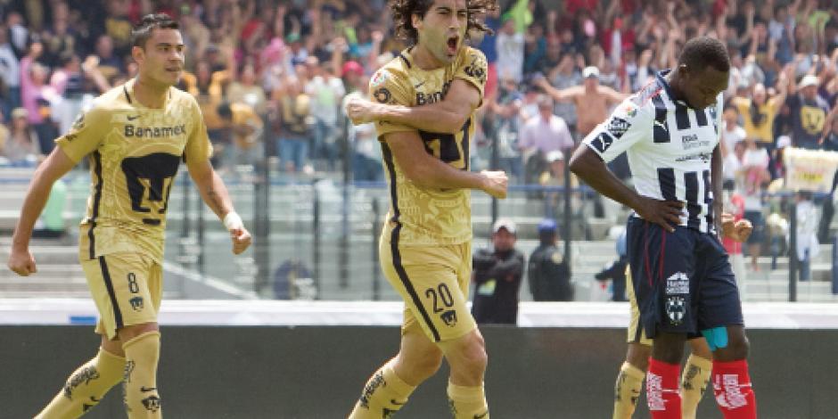 Britos deshace al Monterrey con tres goles en 32 minutos