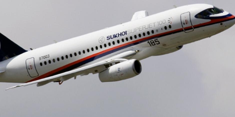 Fabricante ruso del Superjet 100 descarta que falla en aviones sea crítica
