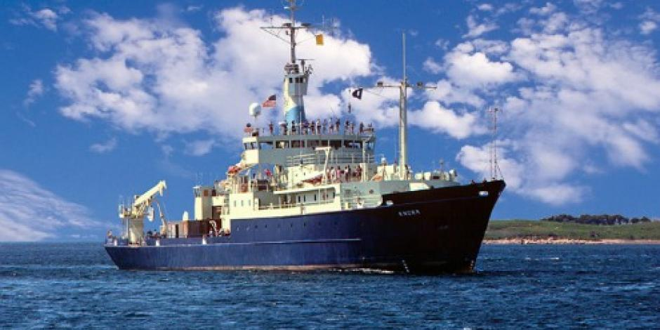 Despedirán en México al barco que ayudó a descubrir el Titanic