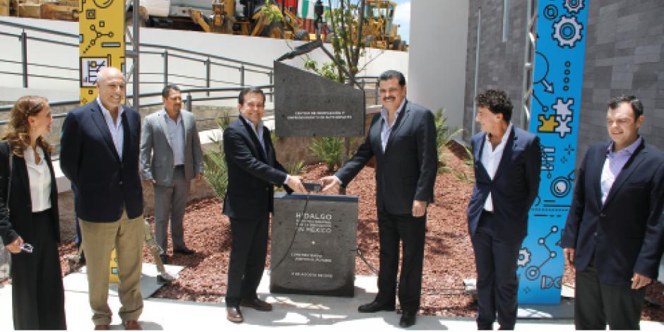 Inauguran centro de innovación  en Hidalgo