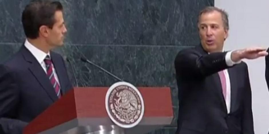 José Antonio Meade rinde protesta como secretario de Hacienda