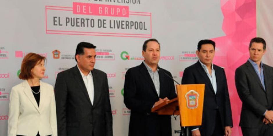 Anuncia Eruviel Ávila inversión de 4 mil 500 mdp para plataforma logística