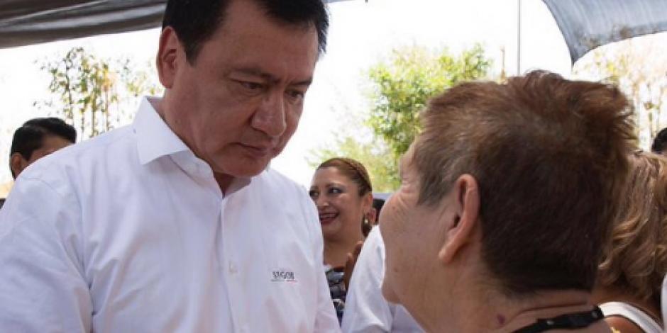Se llegará a fondo en caso Tetelcingo, afirma Osorio Chong