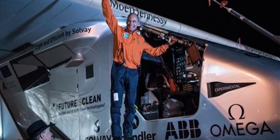 Avión Solar despega de Phoenix rumbo a Oklahoma