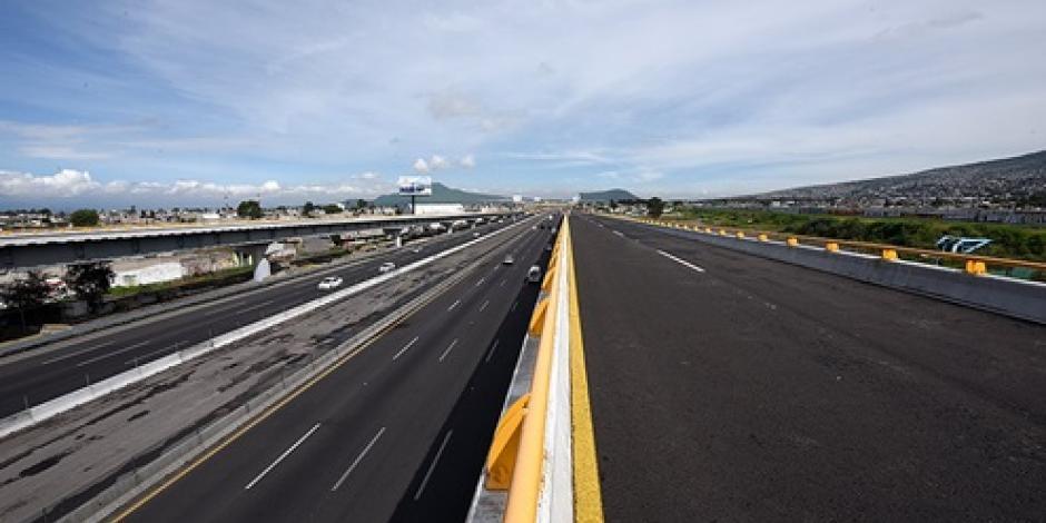 Con inversión de 2 mil mdp, modernizan  Autopista México-Puebla