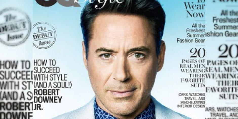 VIDEO: Aparece Robert Downey Jr. en portada de